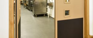 Gather & Gather staff kitchen Fire Door Protection