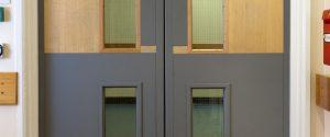 Yeoman Shield Pledges Support to Fire Door Safety Week. Door Protection Panels Door Edge Protection