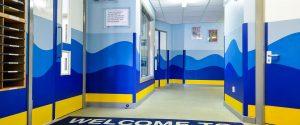 RIverside School Education Wall Panels Wave CNC