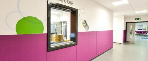 Education Wall Protection Panels Joint Strips