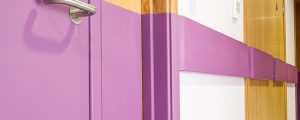 door protection & protection rail