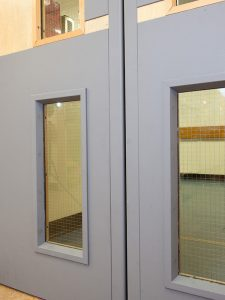 door edge protectors & door protection panels & push plates