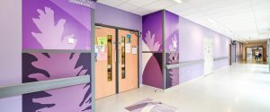 Pinderfields Hospital Wall Protection Lifecycles Imagery CNC