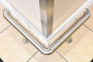 Stainless Steel Heavy Duty Footrail
