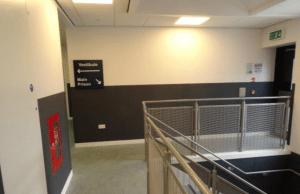 Wall Protection panels HMP Shotts