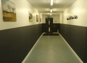 Wall Protection panels HMP Shotts