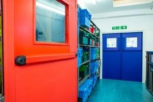 Fire Doors at Warwick Hospital 1