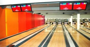 Smooth Sheet Wall Panels Cladding Bowling Alley