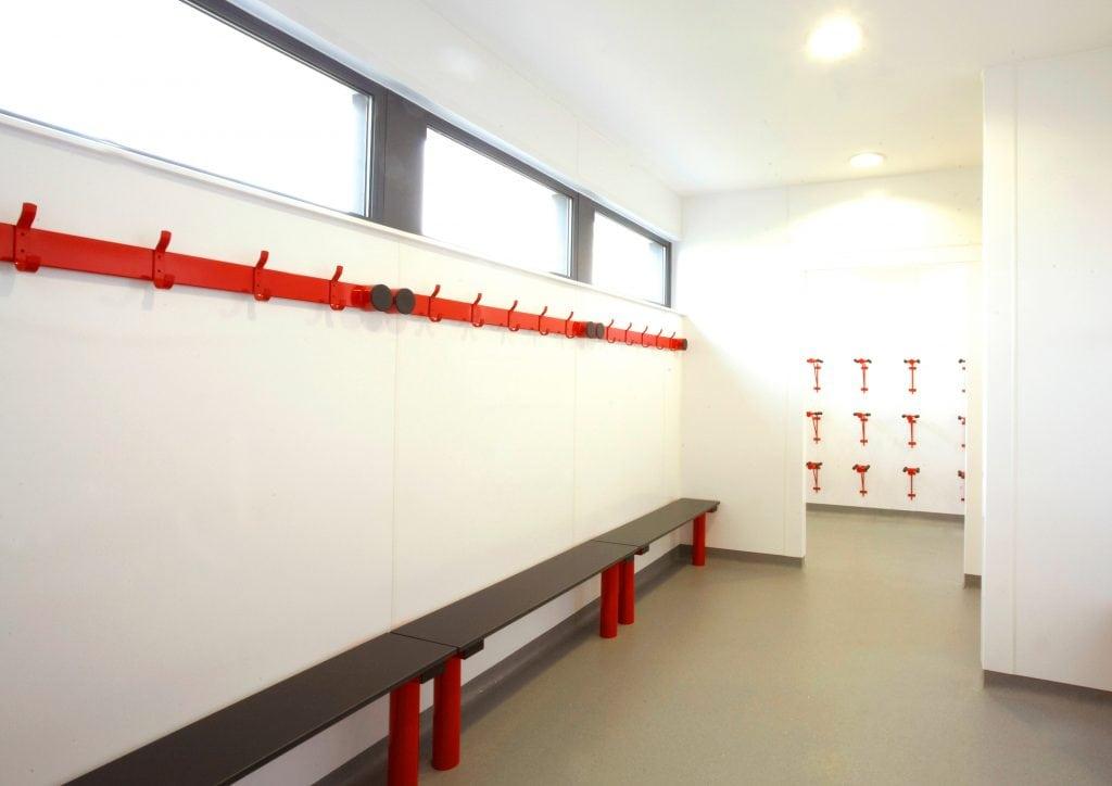 Locker Room Wall Cladding