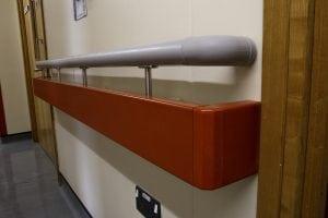 William Harvey Hospital Twin Handrail
