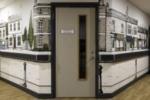 Ysbyty George Thomes Dementia Ward Anti-Ligature Guardian Handrail 1
