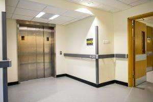 St. Lukes Hospital Horton Ward Dementia Signage Lift